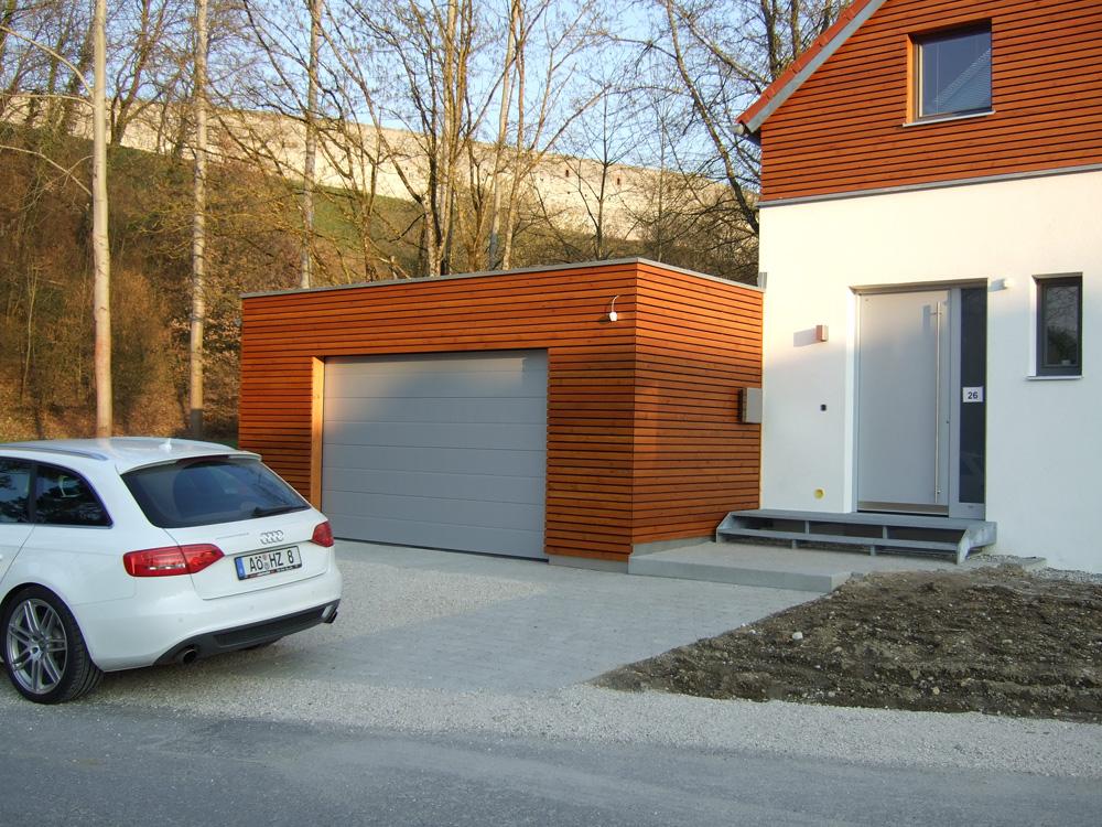 Zimmerei haderer ohg einfamilienhaus schalung modern for Einfamilienhaus modern