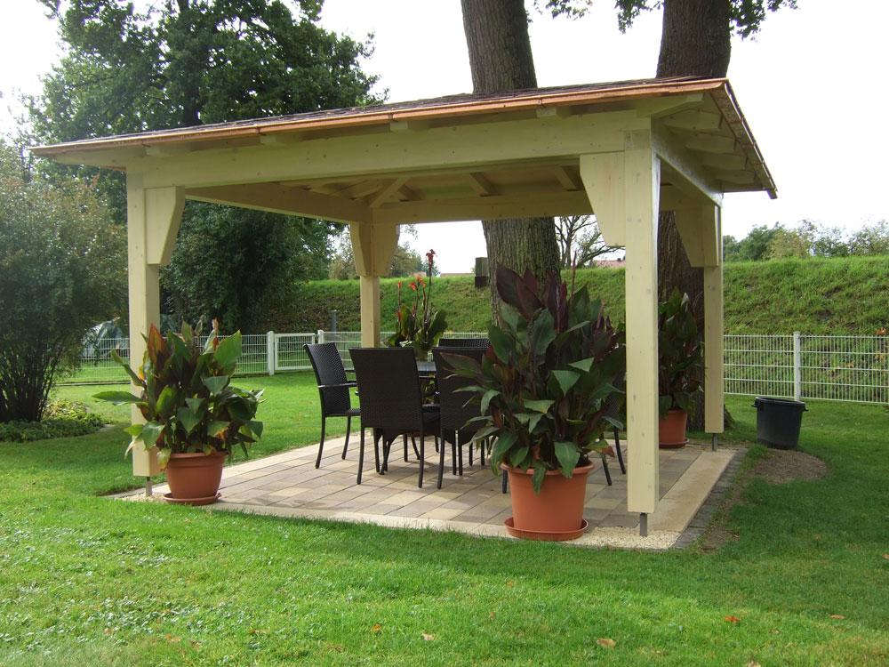 Zimmerei haderer ohg gartenpavillons - Gartenpavillon selber bauen ...